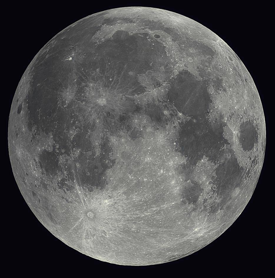 ירח - צילום- מצפה הכוכבים גבעתיים