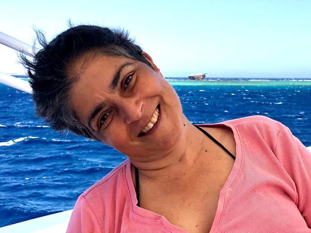 חיוך נצחי. רונית דבי-לב (צילום באדיבות רונית דבי-לב)