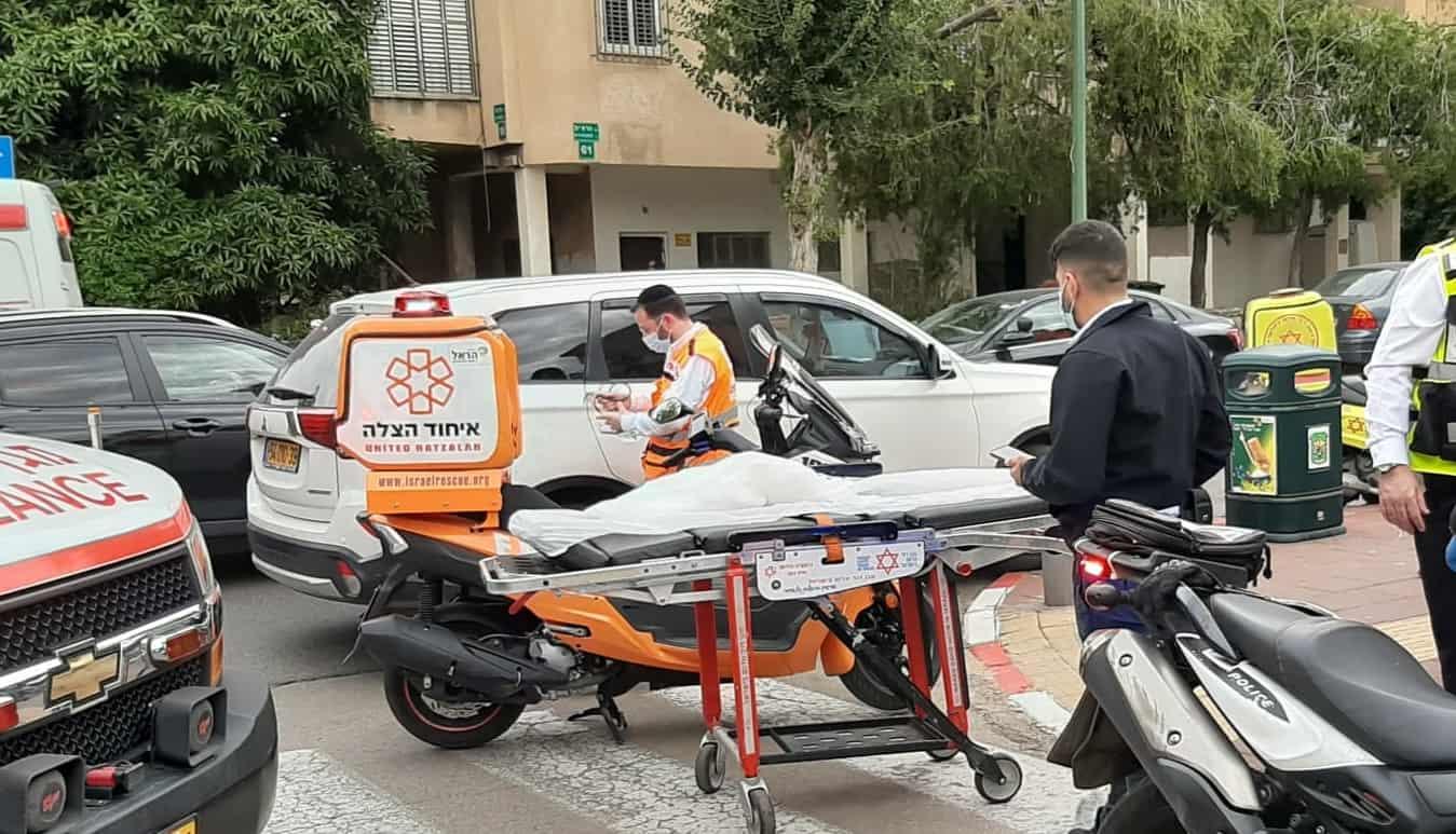 """תאונה בר""""ג איחוד הצלה"""