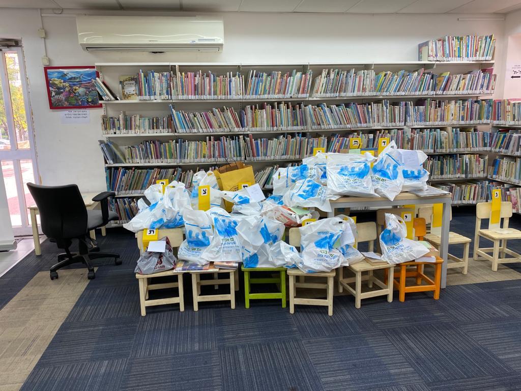 ספרייה בגבעתיים (צילום דוברות עיריית גבעתיים)
