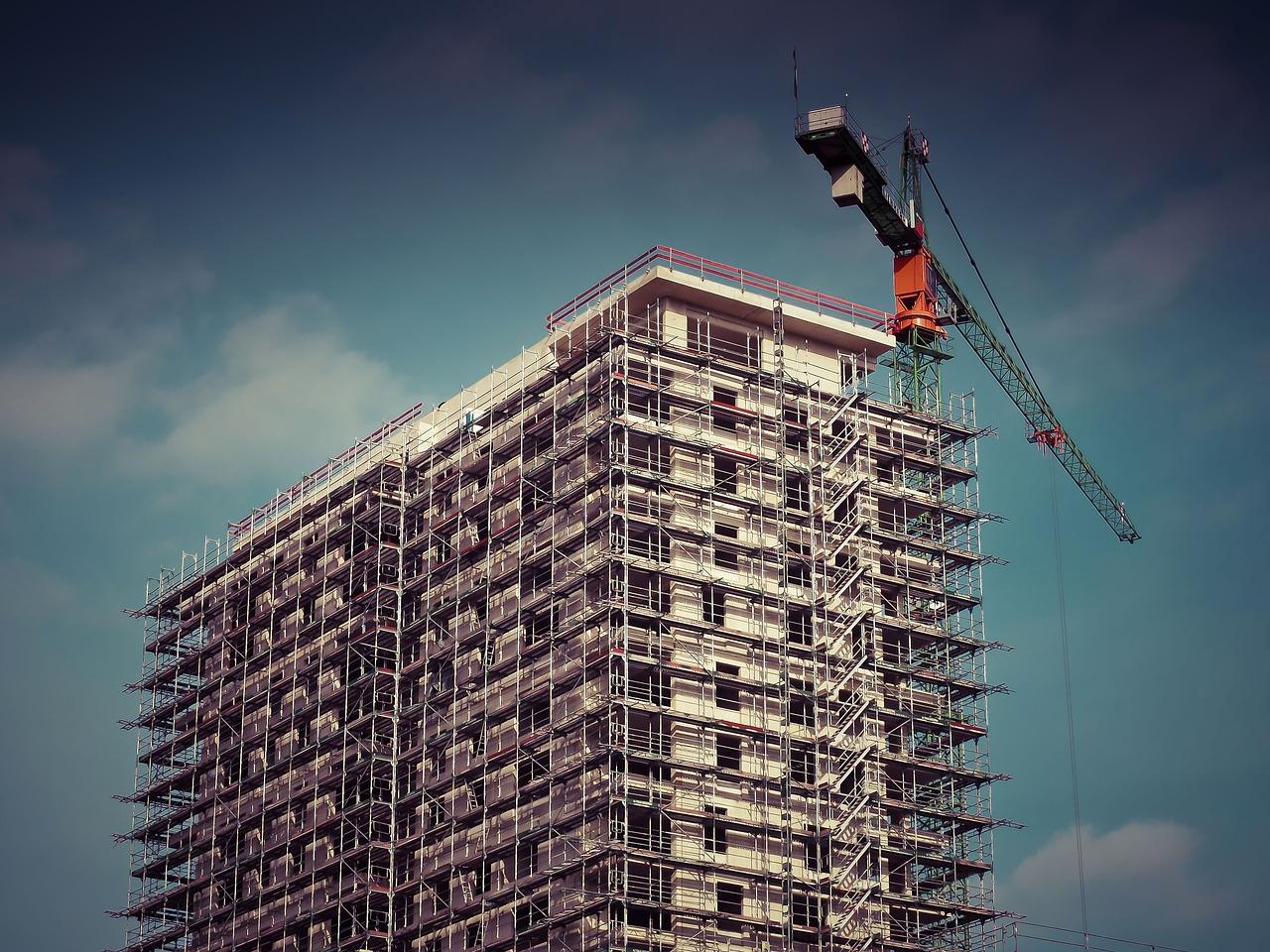 בניית דירות למגורים (צילום אילוסטרציה pixabay)