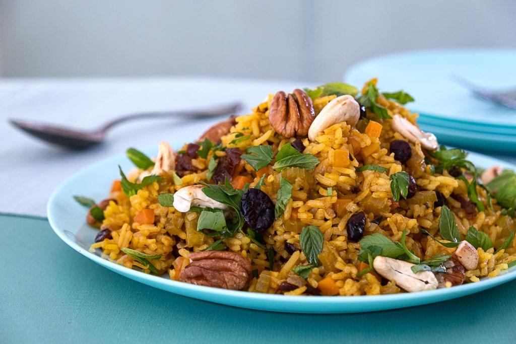 אורז חגיגי ואביבי לשולחן החג.צילום-חגי לפלר