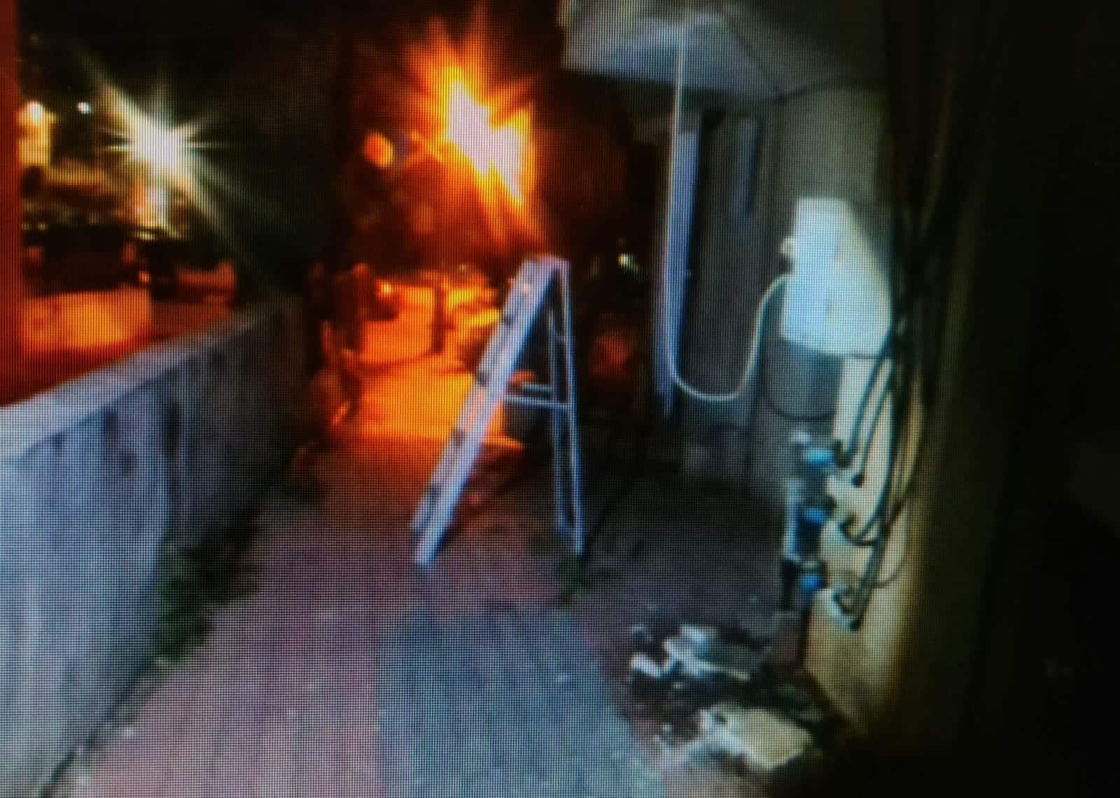 """פריצה בר""""ג (צילום דוברות המשטרה)"""