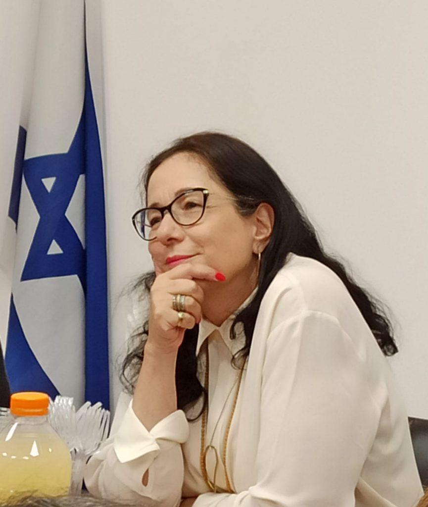 ורדה אופיר מנהלת מחוז מרכז במשרד החינוך (צילום משרד החינוך)