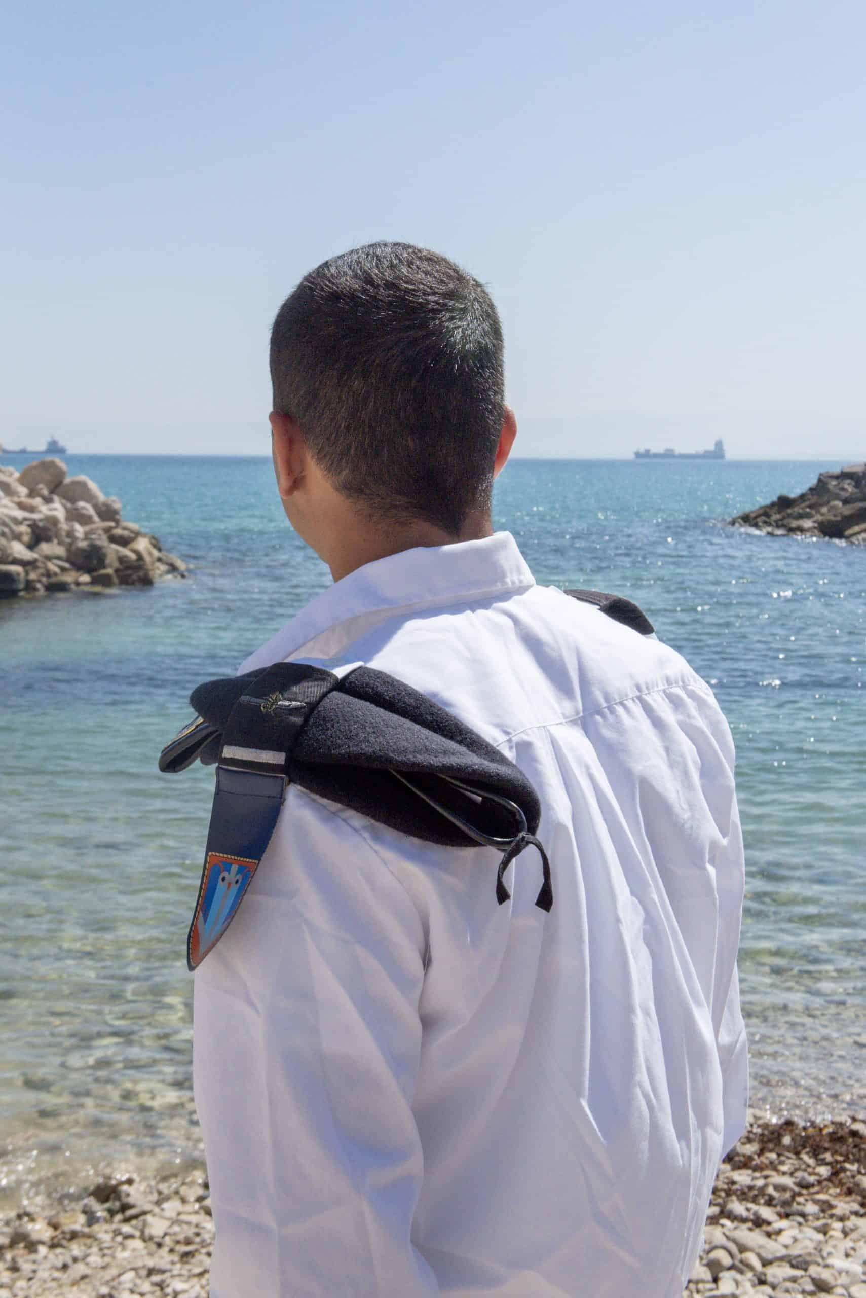 """בוגר קורס צוללן, סמל ש' מגבעתיים. צילום: דובר צה""""ל"""