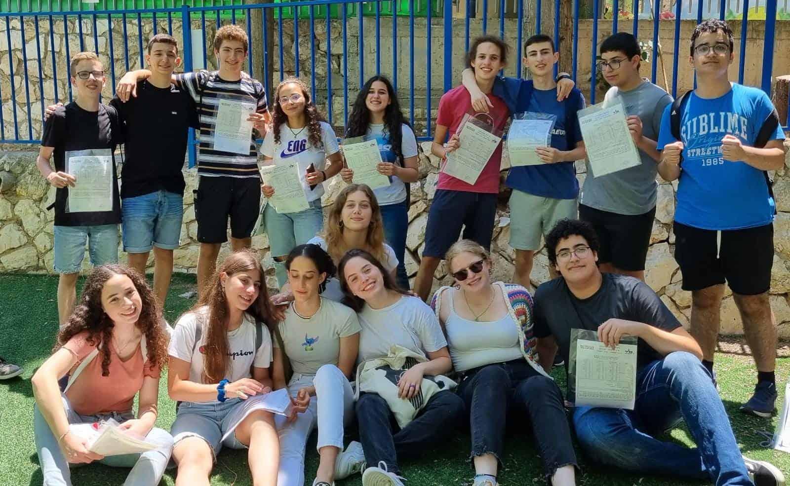 תלמידי קלעי צילום:דוברות העירייה