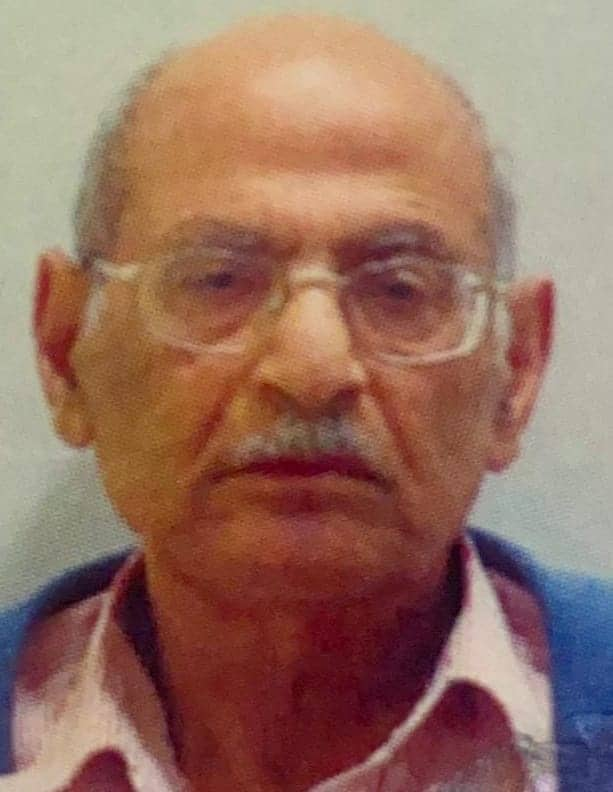 נעדר בן אברהם משה בן 91 מגבעתיים. צילום: דוברות משטרת ישראל