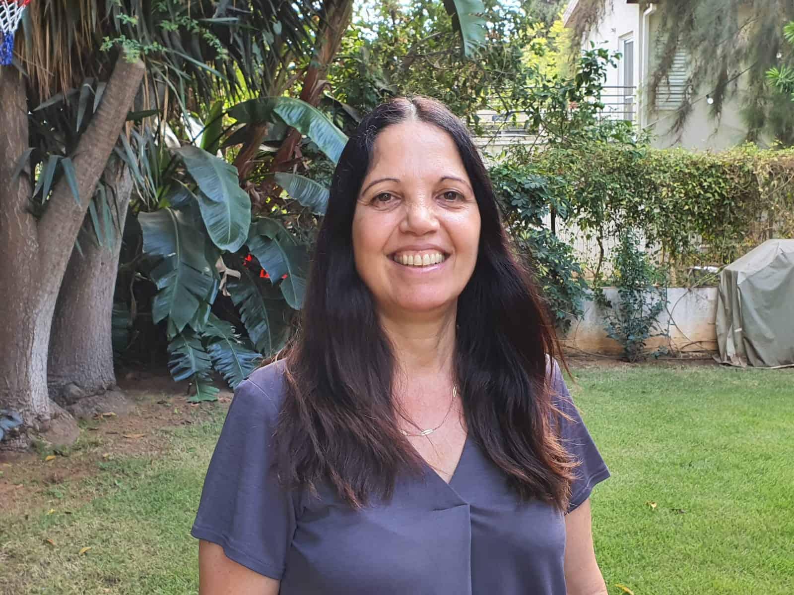 זיוה גבאי מלכה, מנהלת האגף לשירותים חברתיים הנכנסת. צילום עיריית גבעתיים